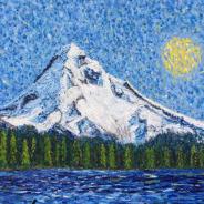 Mount Hood with Sunshine